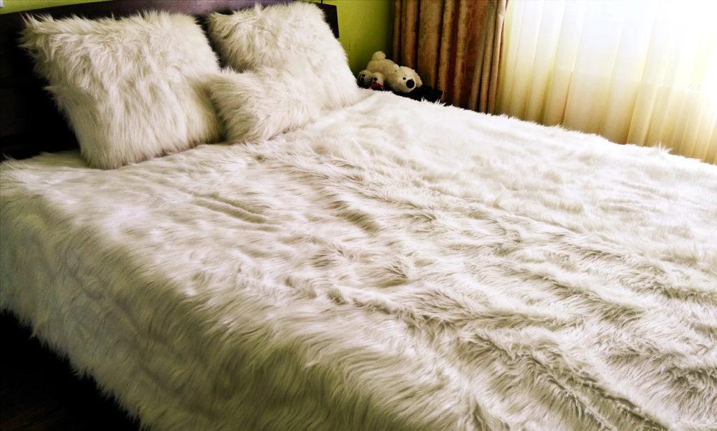Пошив одеял и подушек из меха